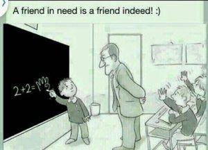 Arkadaş yardımı