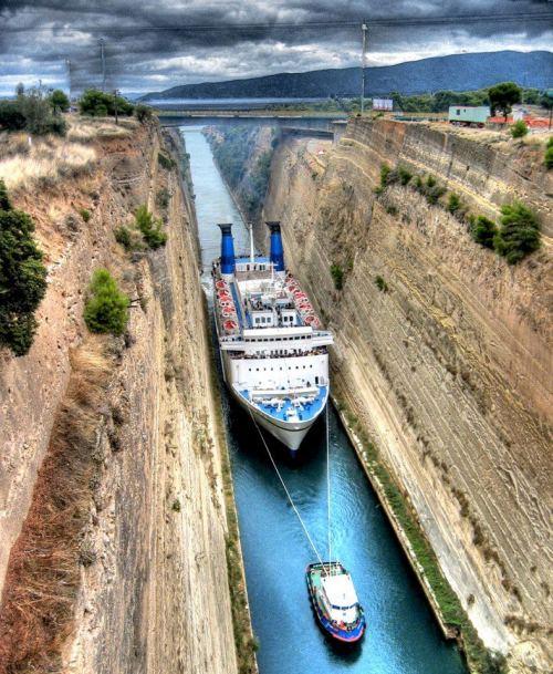 Corinth Kanalı-Yunanistan