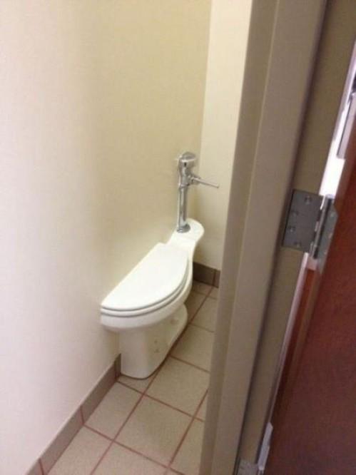İNŞAAT-Sadece küçük iş için tuvalet.