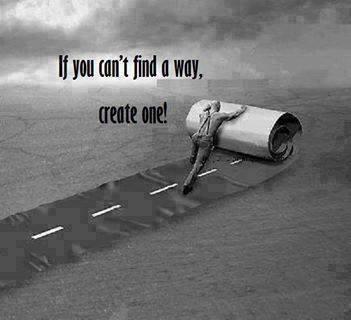 Kendi yolunu kendin yap