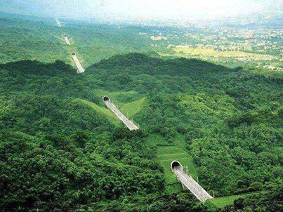 Taiwan'da tüneller