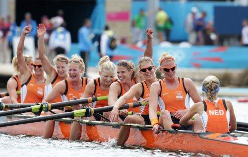 Hollanda yarış bitti ayaklar suya