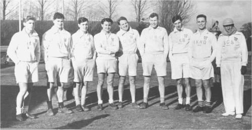 1950 Şamil Urallı Cambridge takımında