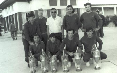 6-1967 yılı kazanılan kupalarla