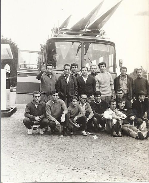 7-1967 Avrupa seyahati öncesi