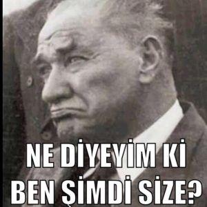 30 Ağustos 2014 te Atatürk yaşasaydı...