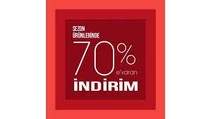 70 indirim