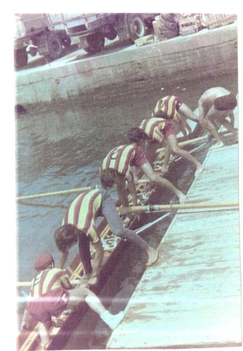 14a-1970 4+ Kartal. Dümenci Hüseyin Özer, Erdinç Karaer, Ahmet Şenkal, Mehmet Ayata, Celal Gürsoy