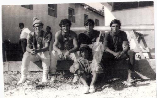 16-1970 4+ Mogan Gölü. Celal Gürsoy, Mehmet Ayata, Ahmet Şenkal , Erdinç Karaer, Dümenci Hüseyin Özer