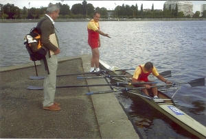 23-2003 Vichy master world rowing. Fatih, Emir, Yalçın,