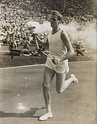 3-John_Mark_Olympic_Torch_Bearer,_London,_1948