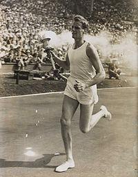 3-John_Mark_Olympic_Torch_Bearer,_London,_1948