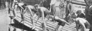3-Yüzücülerin saldan startı