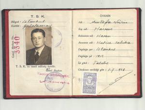 3a-1938 Nevin Hassan Sporcu Kimliği