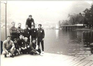 8-1967 Villach gölü kıyısı