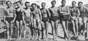9-1933 Yüzücüler