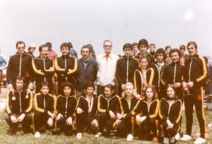73-1977 Kürekçiler ve Şube Kaptanı Ali Ruhi Almedar