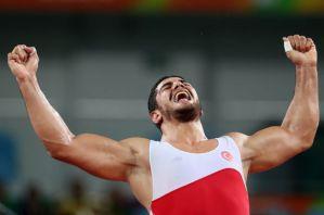 42-Taha Akgül 125kg serbestte Altın Madalyayı kazandı