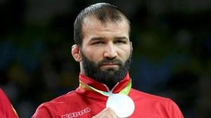 44-Selim Yaşar serbest 86 kiloda Gümüş Madalya kazandı